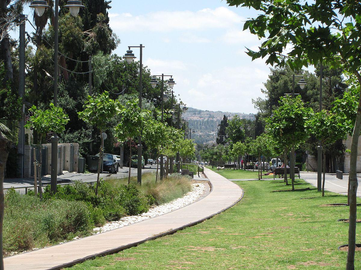 park track train jerusalem wikipedia steps german colony offers village living