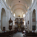 Trakai (Troki) - Church of Visitation of Holy Virgin Mary - interior.jpg