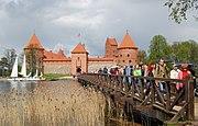 Trakai Castle tourists