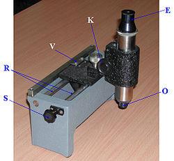 Traveling Microscope Wikipedia