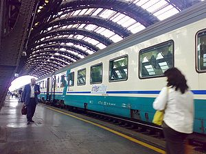 Trenitalia IC Plus at Milan Central Station