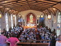 Trinity Church NOLA Independence Day Concert 2012 Navy Band from Balcony 1.JPG