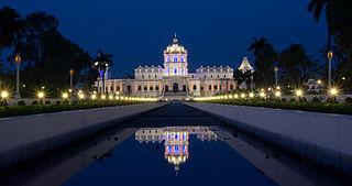 Agartala City in Tripura, India