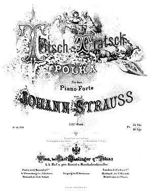 Tritsch-Tratsch-Polka - Image: Tritsch tratsch polka 214