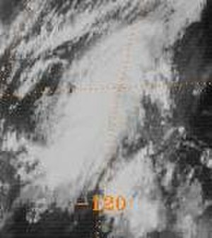 Tropical Storm Octave (1983) - Octave south of Baja California.