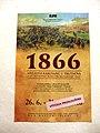 Trutnov, Muzeum Podkrkonoší, výstava Vítězství Rakušanů u Trutnova 1866, plakát.jpg