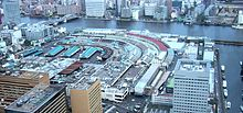 Tsukiji as seen from Shiodome.jpg