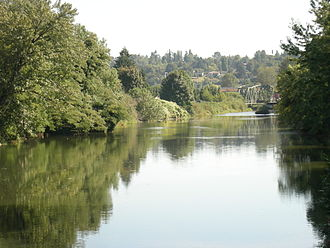 Tukwila, Washington - Duwamish River, Tukwila (2007)