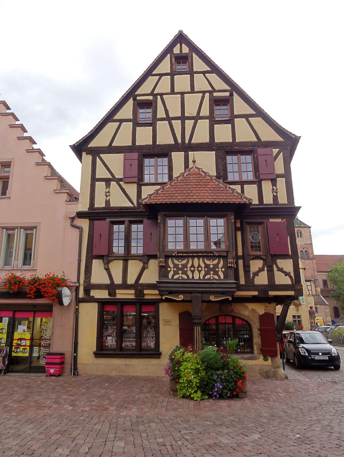 Maison Au 1 Rue Du Conseil Turckheim Wikip Dia
