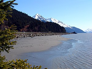 Turnagain Arm im Cook Inlet