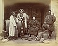 Two Bhutia couples at Darjeeling in 1865.jpg