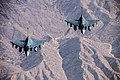 Two HAL Tejas flying in formation.jpg