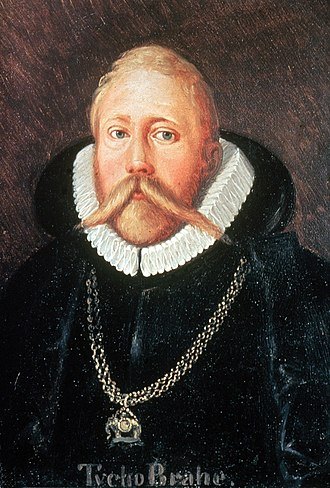 Tycho Brahe - Brahe wearing the Order of the Elephant