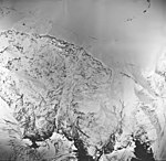 Tyeen Glacier, aretes and icefield, September 17, 1966 (GLACIERS 5927).jpg