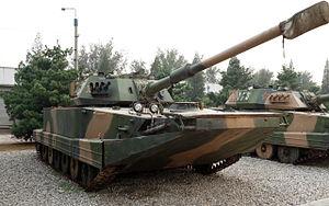 Type 63 (tank) - Type 63A Amphibious tank.