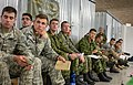 U.S., Canadian and Italian soldiers are briefed on upcoming operations as part of Steadfast Javelin II at Rhine Ordnance Barracks, Germany, Sept 140903-F-YC884-400.jpg
