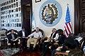 U.S. Defense Secretary Chuck Hagel, left, shares a light moment with Guatemalan President Otto Perez Molina in Guatemala City, April 25, 2014 140425-D-BW835-066.jpg