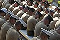 U.S. Marines bow their heads in prayer during the memorial service for Laura Froehlich at the Riverside National Cemetery in Riverside, Calif., Aug. 10, 2012 120810-F-YU985-125.jpg