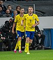 UEFA EURO qualifiers Sweden vs Spain 20191015 Sebastian Larsson and Mikael Lustig.jpg