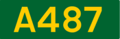 A487 road shield