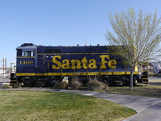 Barstow, California - Western America Rail Museum exhibit