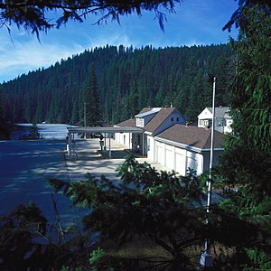National Register of Historic Places listings in Pend Oreille County, Washington - Image: US Border Patrol Station Metaline Falls WA
