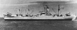USS Aldebaran (AF-10) - USS Aldebaran (AF-10) in 1960.