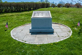 USS Bennington (CV-20) - A memorial to the victims of the explosion was erected at Fort Adams on May 26, 2004.