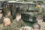 USS Bonhomme Richard, 31st MEU CO addresses Marines 150311-N-RU971-005.jpg