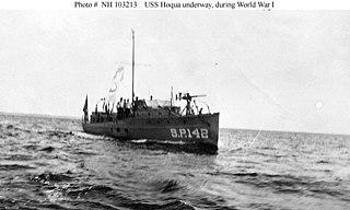 USS <i>Hoqua</i> (SP-142)