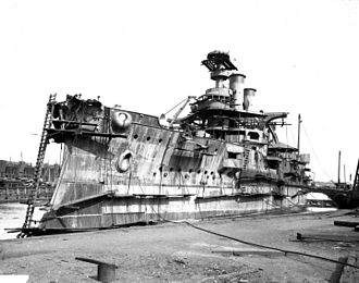USS Idaho (BB-24) - USS Idaho under construction at Cramp yard, Philadelphia