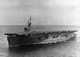 USS <i>Matanikau</i> Casablanca-class escort carrier of the US Navy