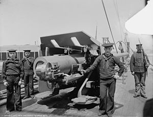 USS New Orleans (CL-22) - 6-inch gun on USS New Orleans