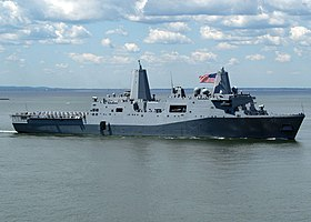 USS San Antonio 2006 vor New York