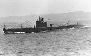 USS <i>Tarpon</i> (SS-175) US Navy Submarine which foundered south of Cape Hatteras, North Carolina, while under tow to the scrap yard.