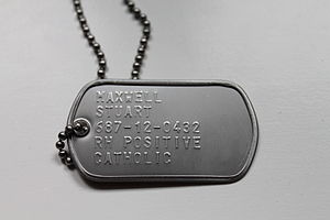 US Dog Tag with Surname, First name, Social Security number, Blood type, Religion.jpg