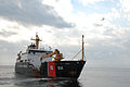US Navy 100504-N-6268N-084 he U.S. Coast Guard seagoing buoy tender USCGC Oak (WLB 211) gets underway from Naval Air Station Pensacola to support cleanup efforts from the Deepwater Horizon oil spill.jpg