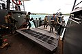 US Navy 110623-N-YO394-058 Sailors assigned to Riverine Squadron (RIVRON) 3 board a Royal Netherlands Navy landing craft vehicle personnel (LCVP) d.jpg