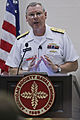 US Navy 110830-N-HW977-601 Vice Adm. Kevin McCoy, commander of Naval Sea Systems Command, delivers the keynote address at a luncheon during Fleet M.jpg