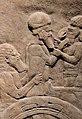 Ummanaldash, King of Elam being taken to Nineveh by the Assyrians 645-640 BCE.jpg