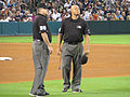 Umpires Cederstrom and Danley Sept 2013.jpg