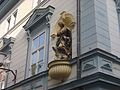 Uni Hotel, Maribor - statue of Virgin Mary.JPG