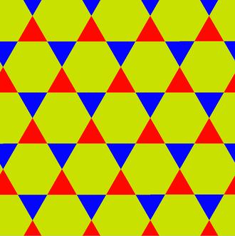 Trihexagonal tiling - Image: Uniform tiling 333 t 12