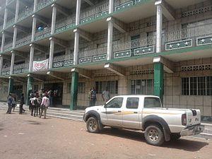 Kimbanguism - Kimbanguist university in Kalamu, Kinshasa, Democratic Republic of the Congo.