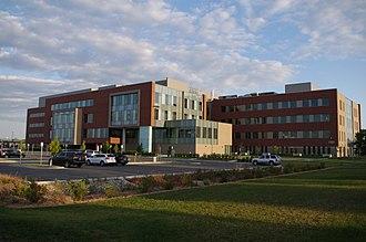 University of North Dakota School of Medicine and Health Sciences - University of North Dakota School of Medicine and Health Sciences main building.