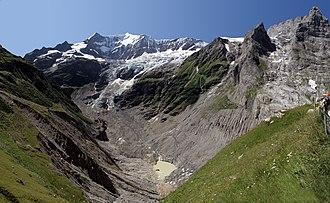 Lower Grindelwald Glacier - Image: Unterer Grindelwaldgletscher 01