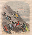 Up to Vesuvius (Salita al Vesuvio, 1846) - Old print.jpg