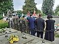 Uroczystość odsłonięcia odnowionego nagrobka Adama Pytla w Sanoku.jpg