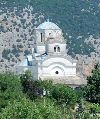 Demir Kapija - Dormition of the Theotokos Church in Demir Kapija