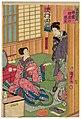 Utagawa Kunisada II - Dressing Room of the Top Female-role Actor - Actors Sawamura Tanosuke III and Nakamura Ichô.jpg
